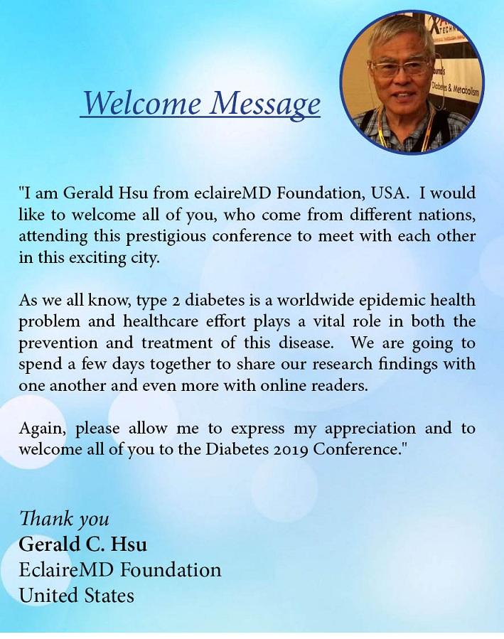 About Us | Diabetes | Diabetes 2019 | Diabetes Conferences
